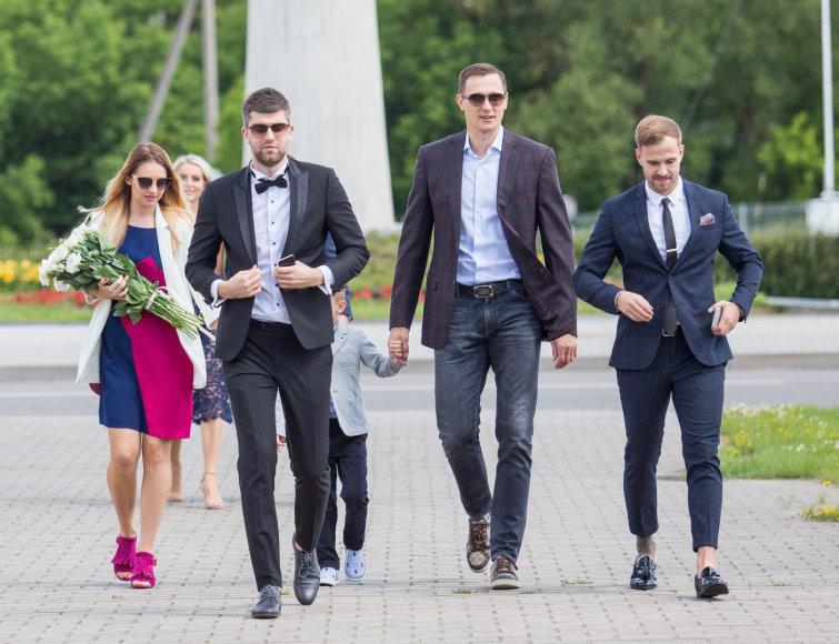 Luko Balandžio / 15min nuotr./Paulius Jankūnas (viduryje)