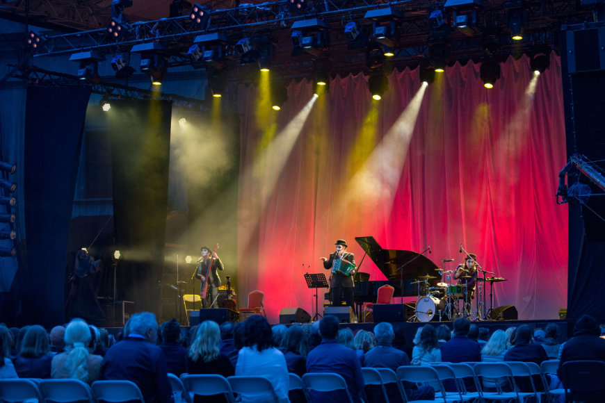"Luko Balandžio / 15min nuotr./""The Tiger Lillies"" koncertas Vilniuje"