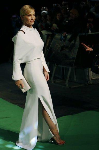 """Scanpix"" nuotr./Aktorė Cate Blanchett ir ""Givenchy"" suknelė"