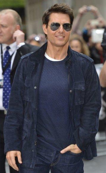 Aktorius Tomas Cruise'as – 75 mln. JAV dolerių