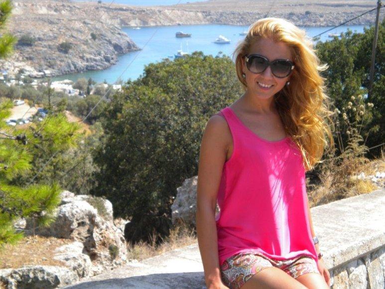 Ingridos Kolytės atostogų akimirkos