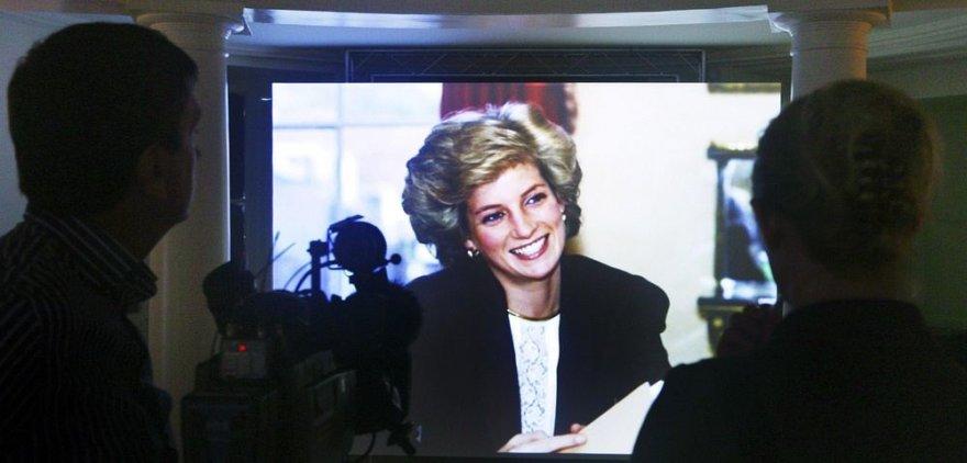 Princesė Diana televizijos laidoje