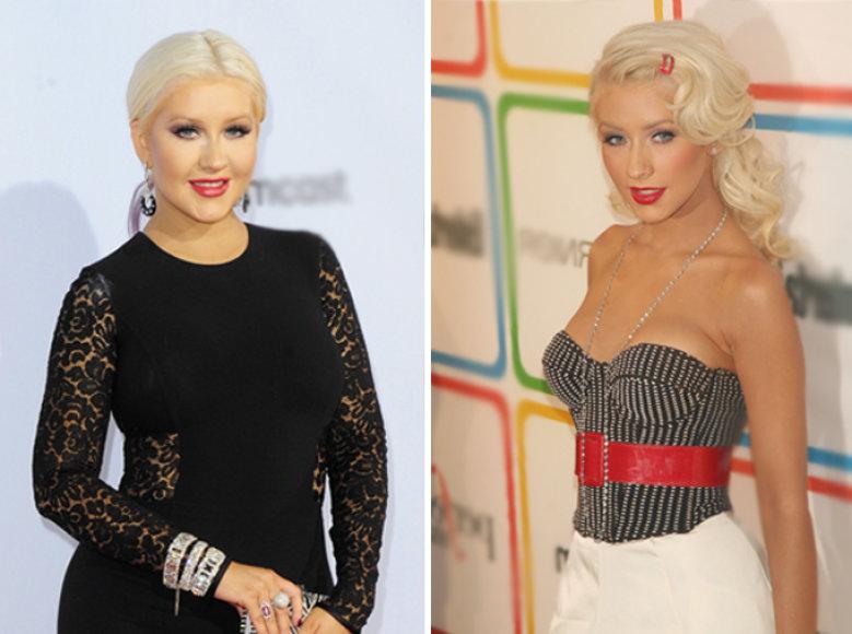 Christina Aguilera – dabar ir anksčiau