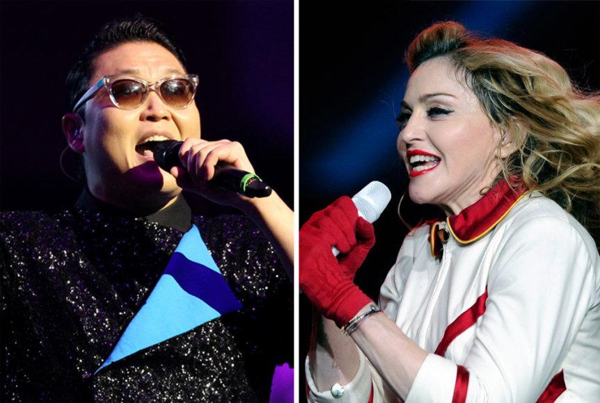 Psy ir Madonna