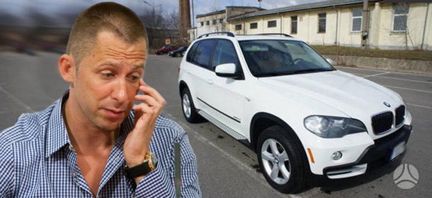 """Egidijus Dragūnas-Selas parduoda savo """"BMW X5"""" visureigį"""