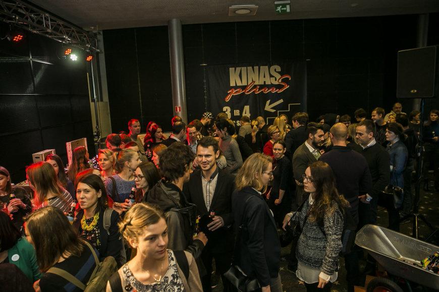 """Viganto Ovadnevo/Žmonės.lt nuotr./""""Kino pavasario"""" renginio akimirka"""