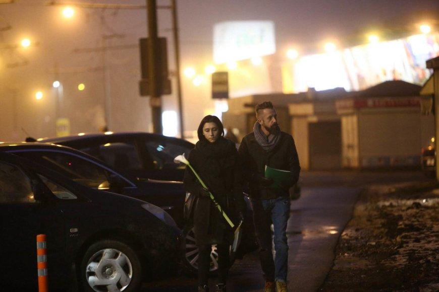 Aliaus Koroliovo nuotr./Linas Adomaitis su žmona Irma