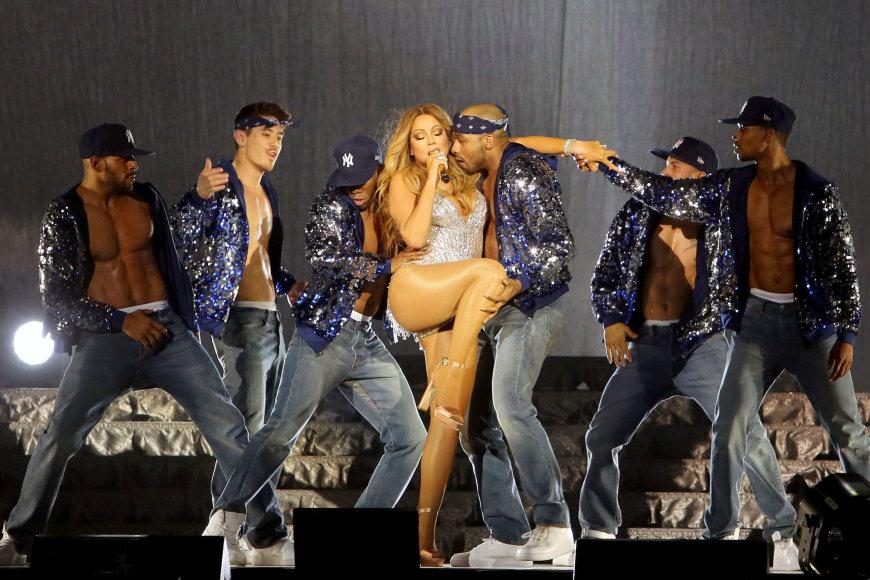 Teodoro Biliūno/Žmonės.lt nuotr./Mariah Carey koncerto akimirka