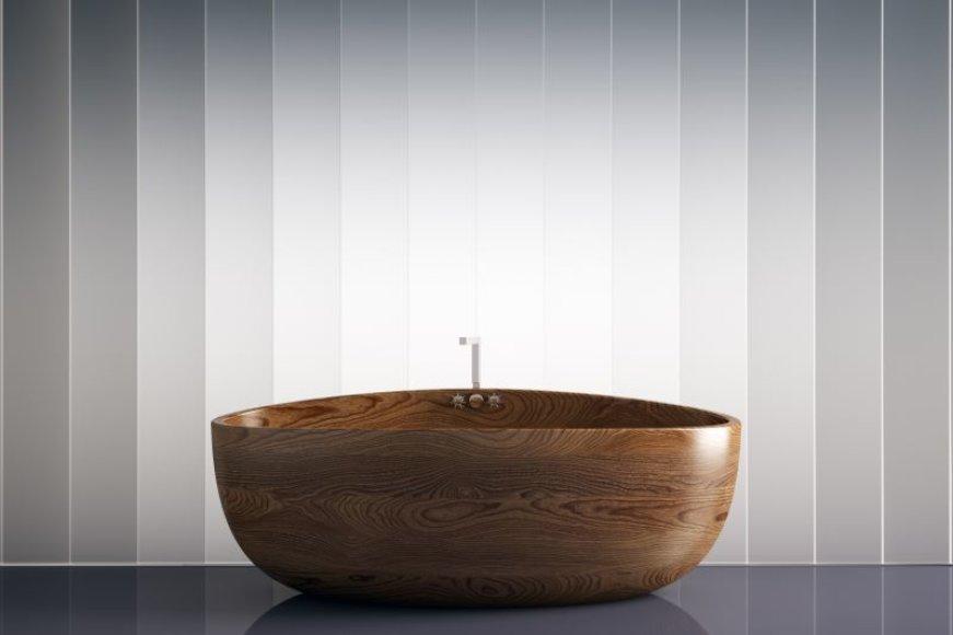 Medinė vonia