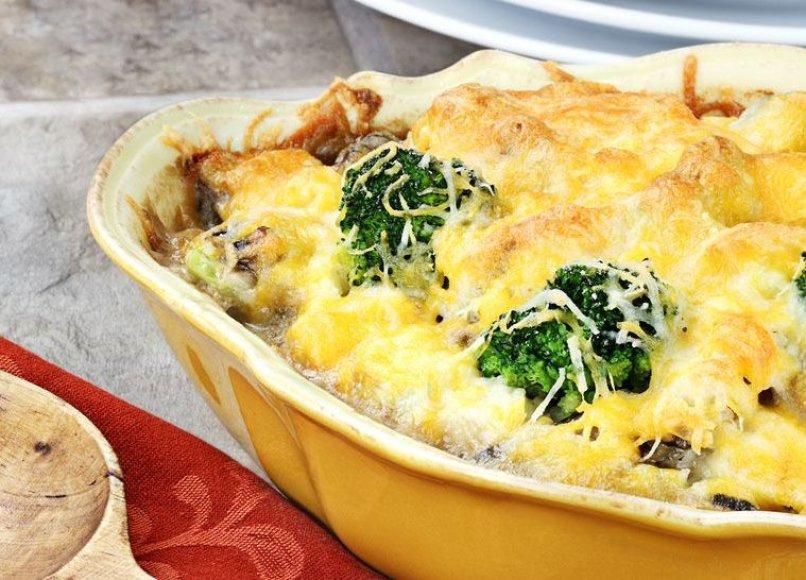 Apkepas su ryžiais ir brokoliais