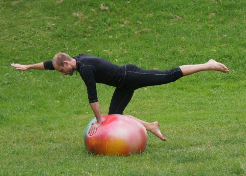 Pilateso instruktorius Laurynas Mykolaitis