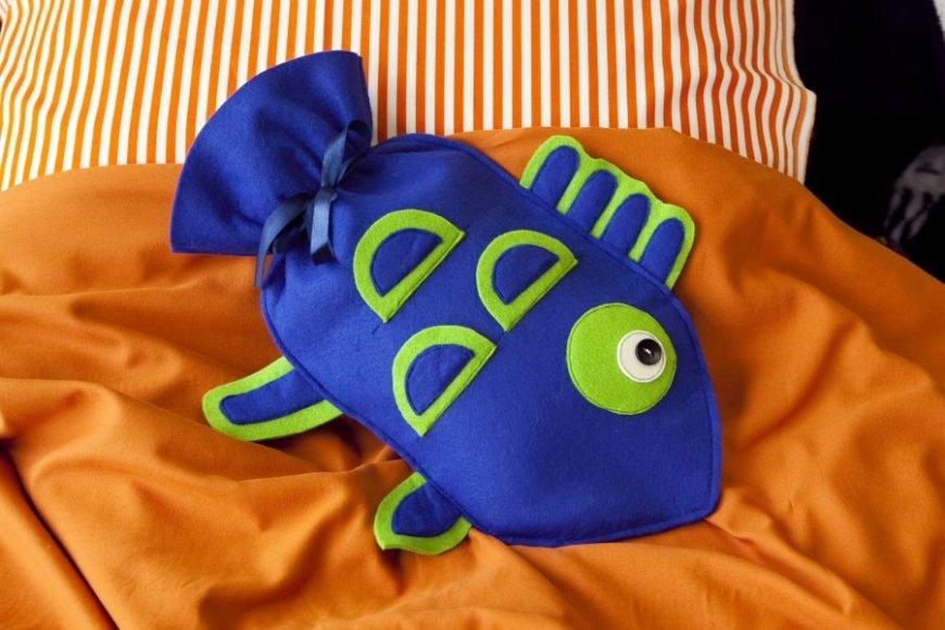 Guminė šildyklė - žuvis