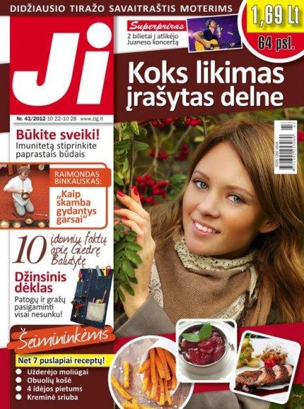 """""""Ji"""" 2012 m. Nr. 43"""
