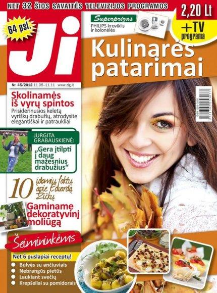 """""""Ji"""" 2012 m. Nr. 45"""