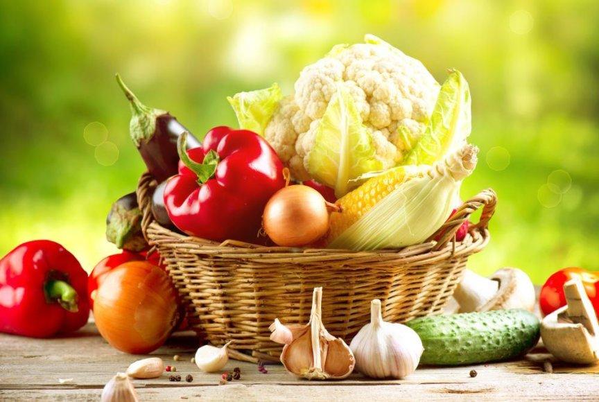 Daržovės ir vaisiai