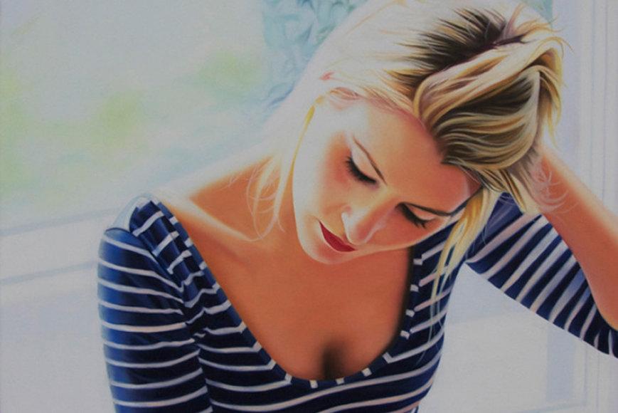 Menininkės Claire Duguid paveikslas