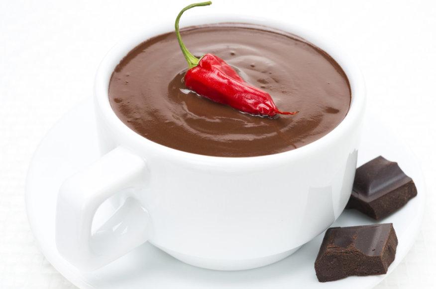 Čilietiškas karštas šokoladas