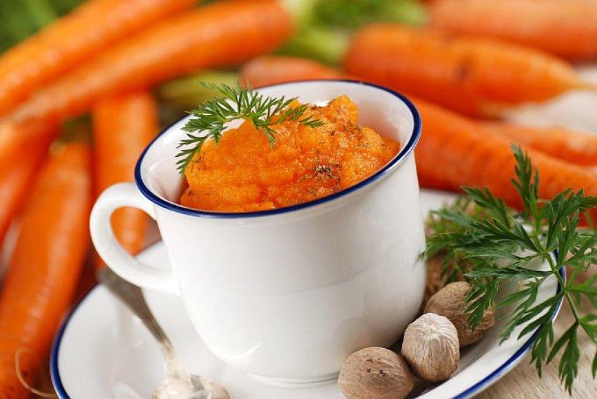 Bulvių košė su morkomis