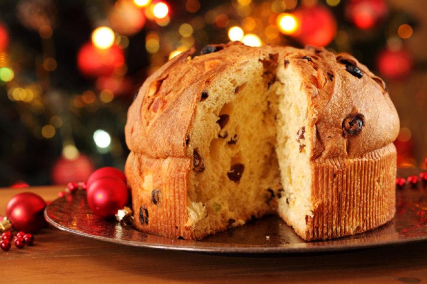 """Itališkas kalėdinis pyragas (""""panettone"""")"""