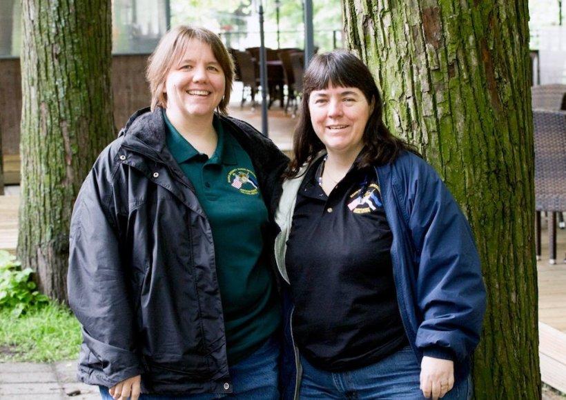Mary Glantz (kairėje) ir Michelle Schohn
