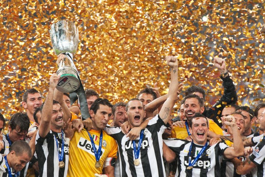 """Juventus"" laimėjo Italijos supertaurę"