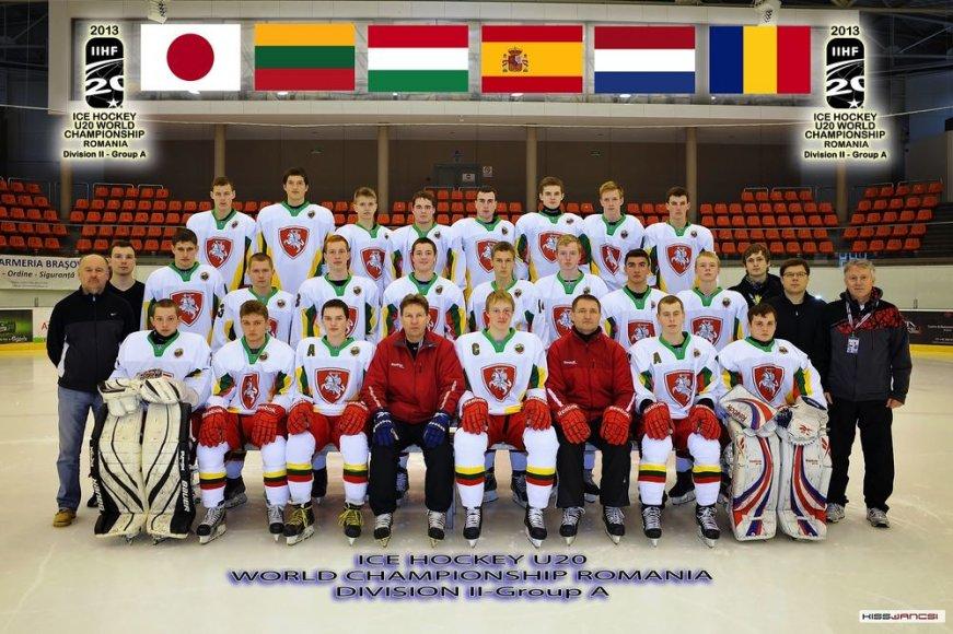 Lietuvos ledo ritulio U-20 rinktinė