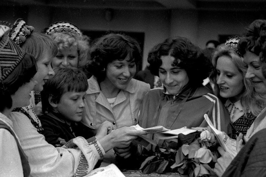 Vilhelmina Bardauskienė 1978 m.