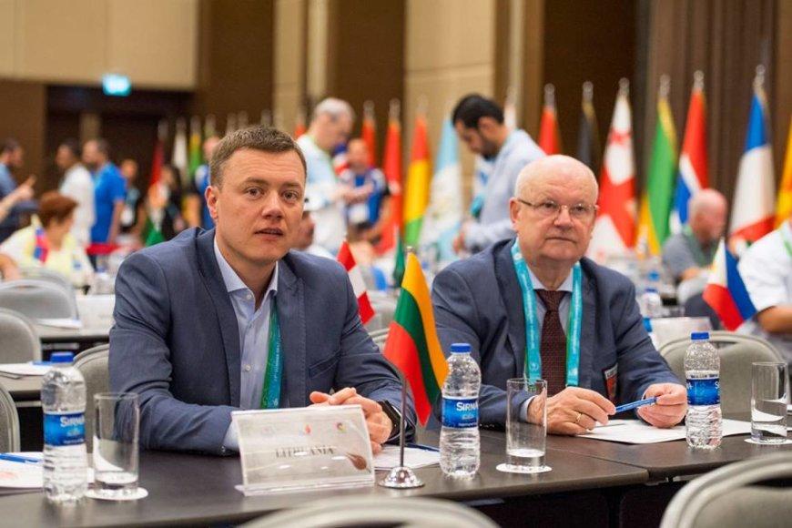 Augusto Četkausko nuotr./Marius Minkevičius ir Aleksas Jasiūnas