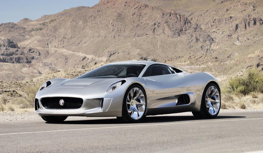 """""""Jaguar C-X75"""" koncepcija"""