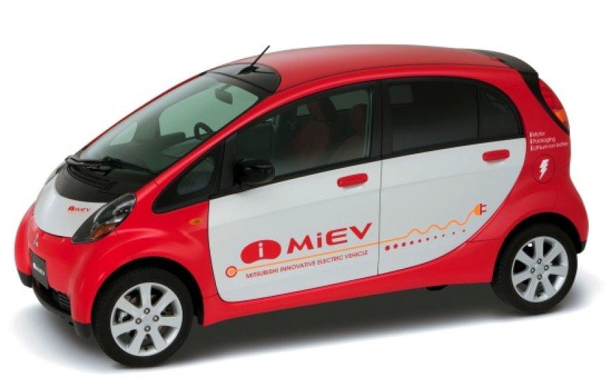 Mitsubishi i-Miev elektromobilis