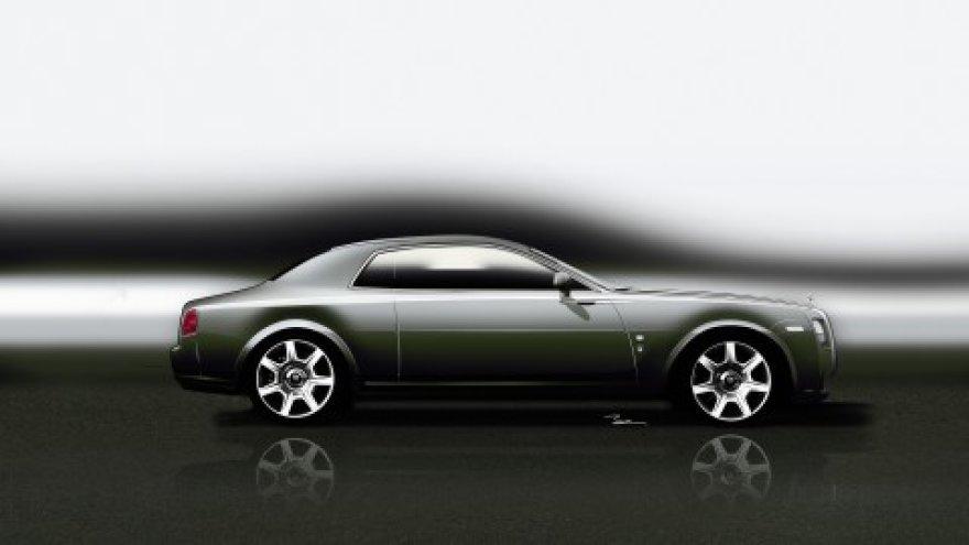 Rolls-Royce Ghost Coupe eskizas