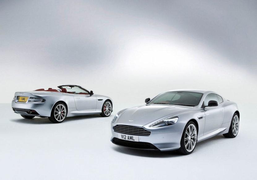 Kupė ir kabrioleto kėbulo Aston Martin DB9