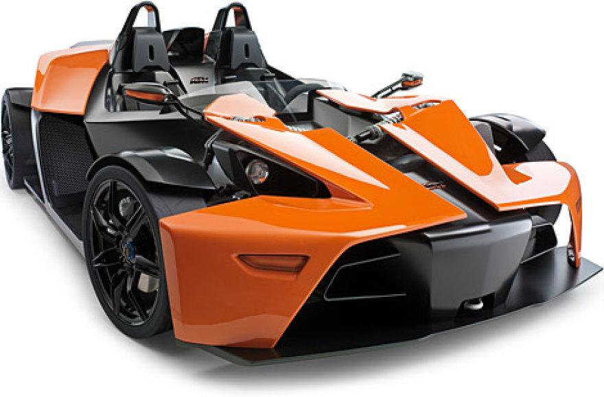 Dabar gaminamas KTM X-Bow