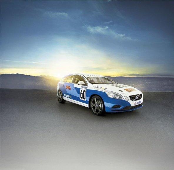 """Lenktymėms paruoštas """"Volvo V60"""""""