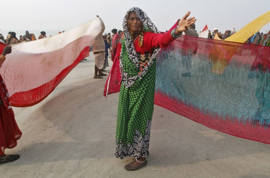 Indijos moterys