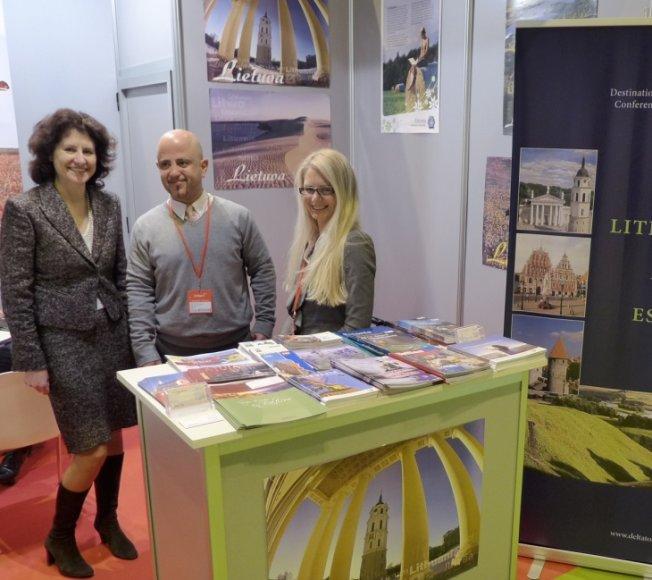Lietuva turistų žvalgosi vienoje didžiausių turizmo parodų