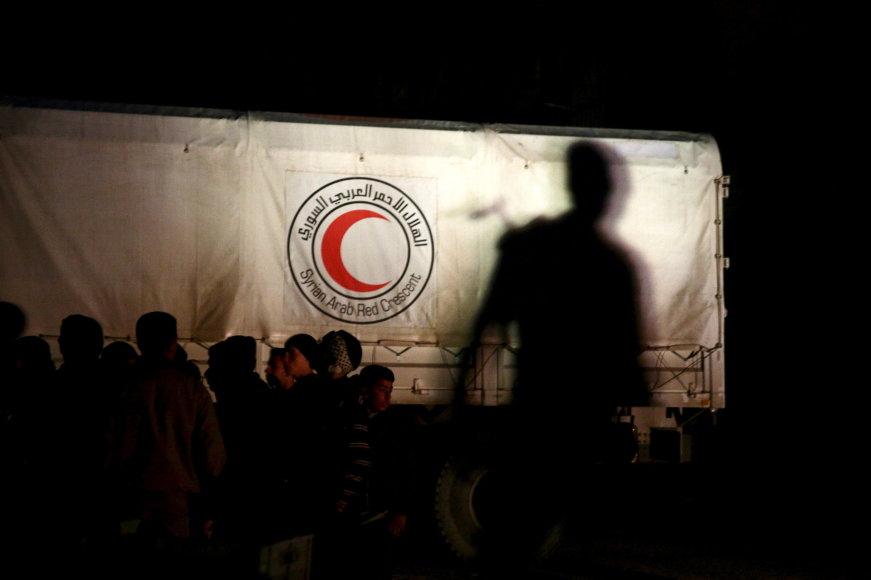 """""""Reuters""""/""""Scanpix"""" nuotr./Humanitarinė pagalba Sirijai"""