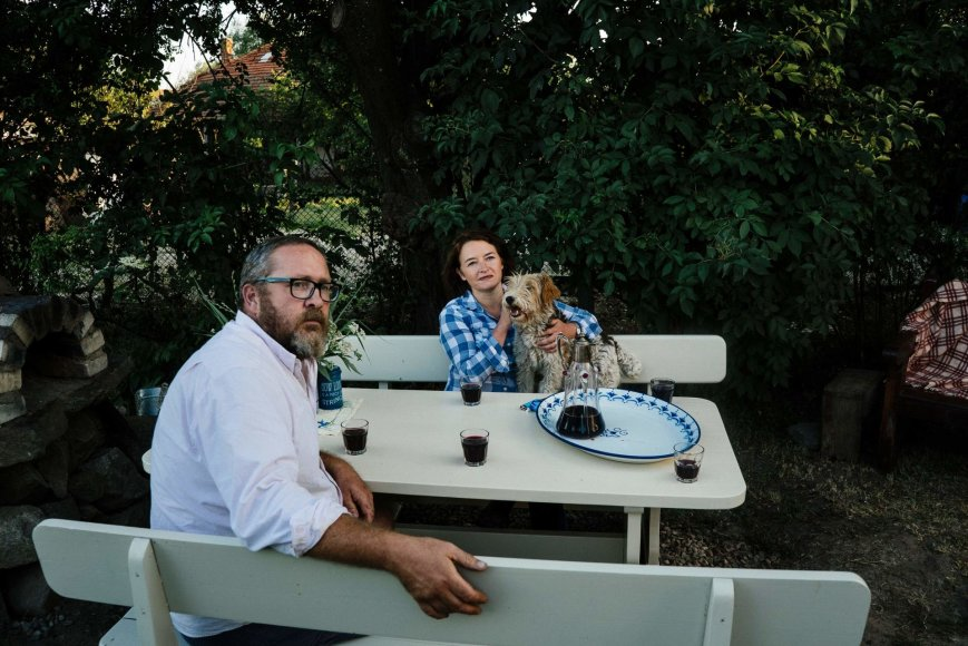 "AFP/""Scanpix"" nuotr./Tina ir Kevinas Brassingtonai"