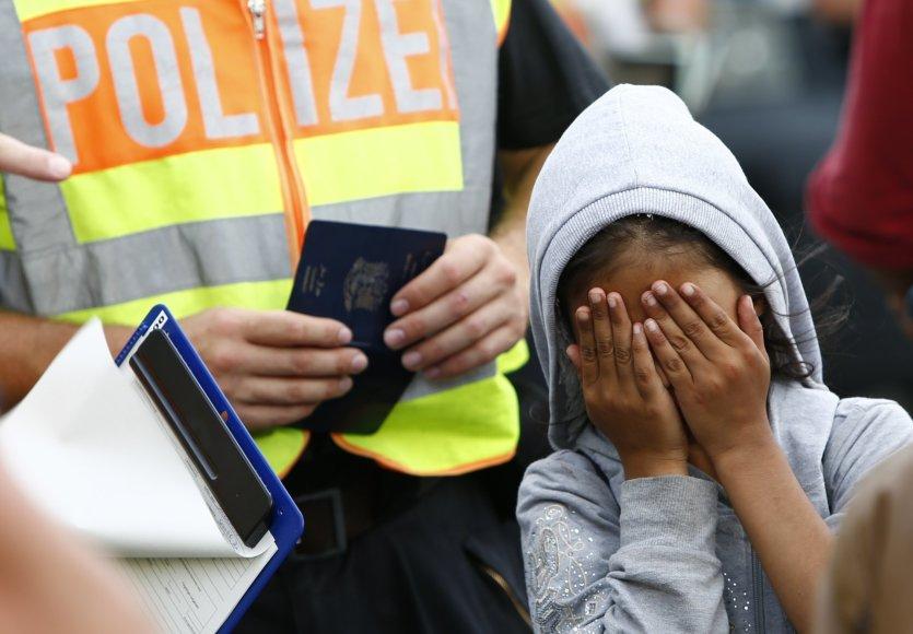 """""""Reuters""""/""""Scanpix"""" nuotr./Vokietijos policija"""