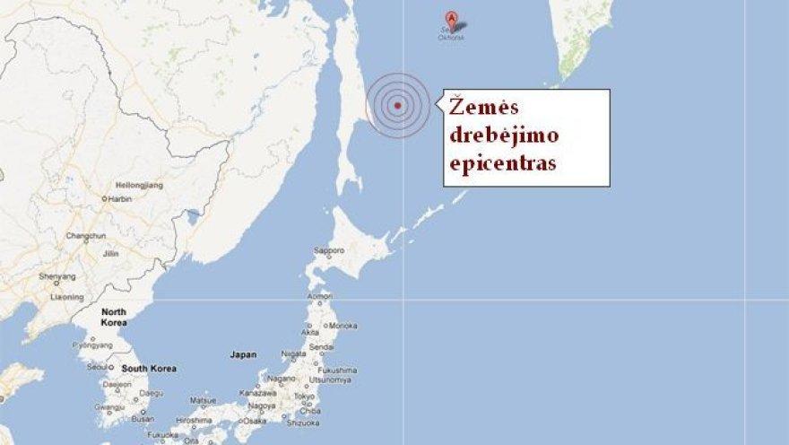 Žemės drebėjimas Rusijoje