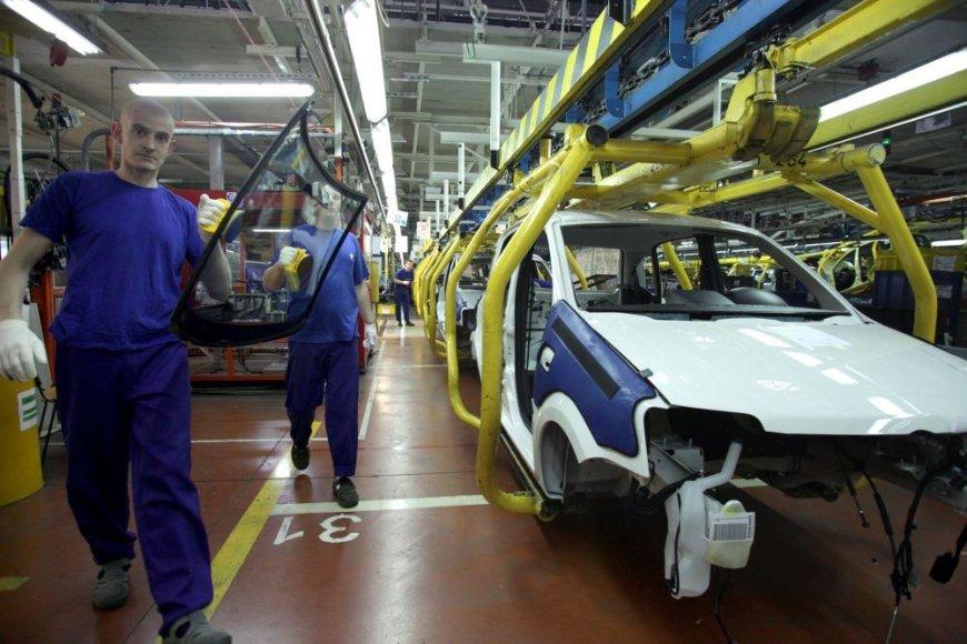 Automobilių gamykla Lenkijoje