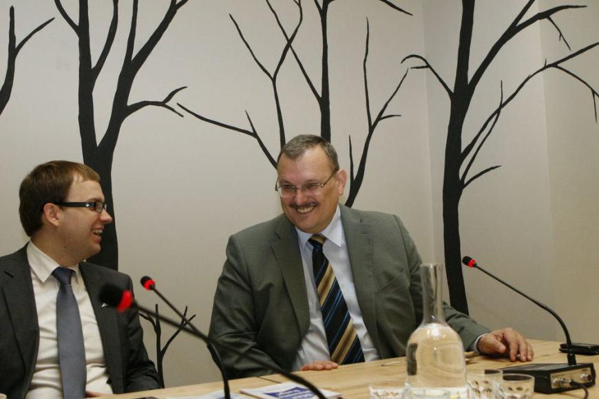 Vytauto Gapšio ir Kęstučio Daukšio diskusija