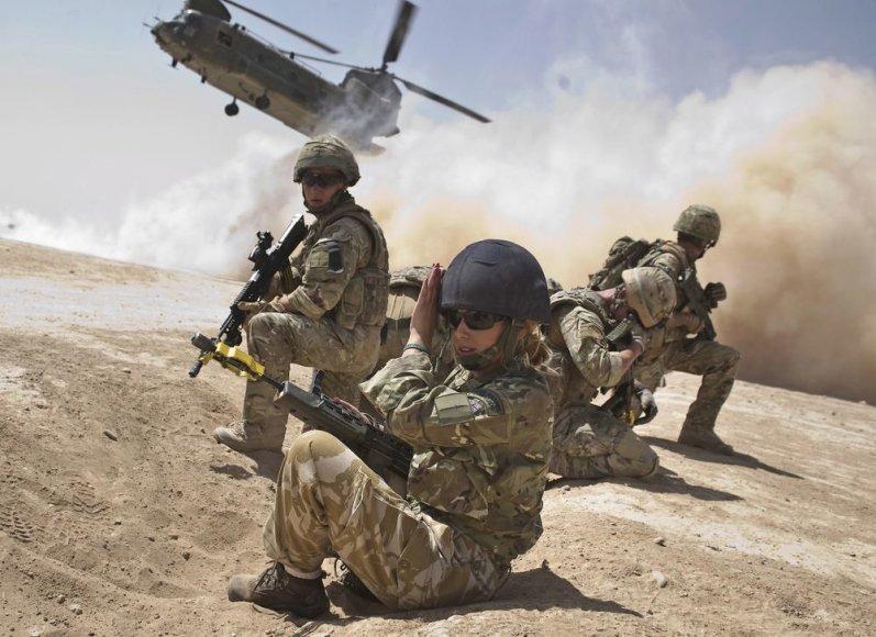 Didžiosios Britanijos kariai