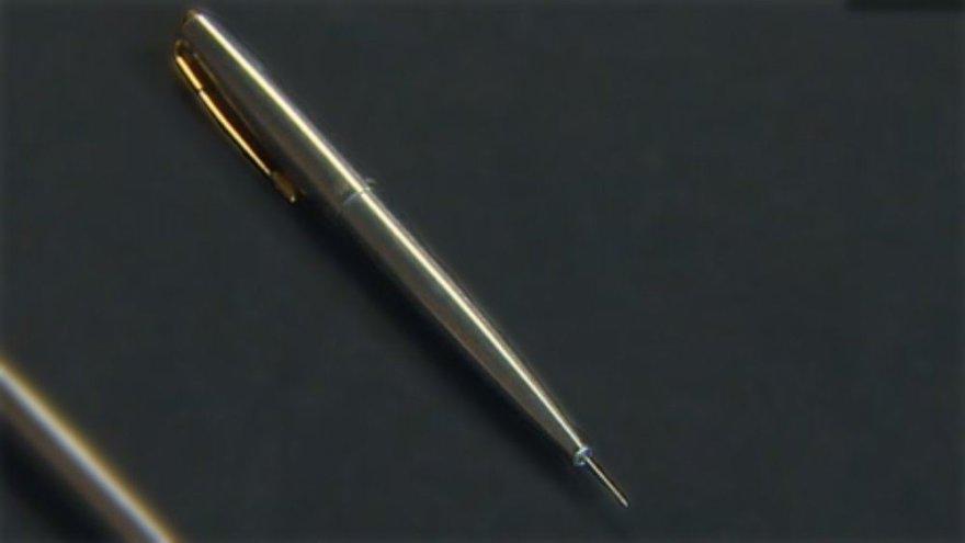 Rašiklis su nuodais