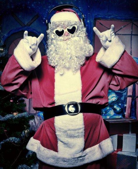 Kalėdų senis – ir roko gerbėjas