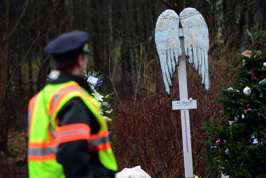 JAV policininkas po Konektikute vykusių žudynių