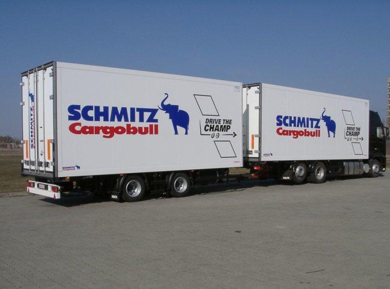 """SchmitzCargobullBaltic"" pagamintas autotraukinys"