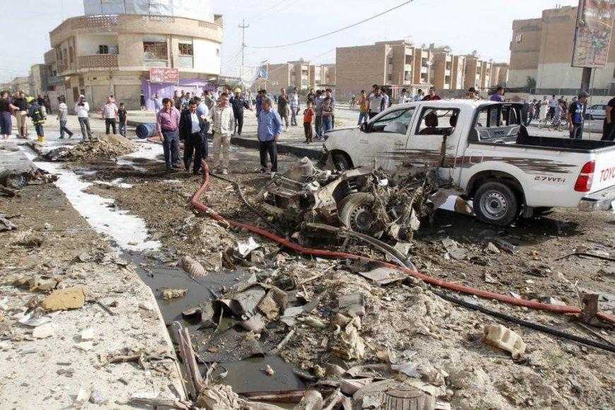 Po sprogimo Irake