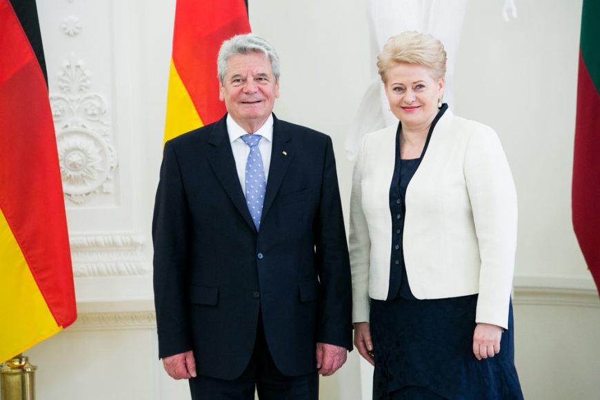Dalia Grybauskaitė ir Joachimas Gauckas