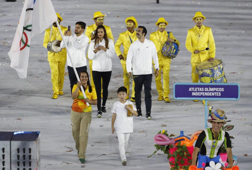 """AFP/""""Scanpix"""" nuotr./Nepriklausomų olimpinių atletų komanda"""